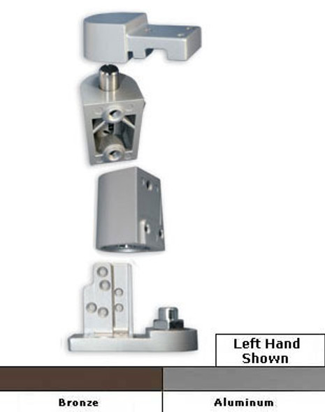 International Commercial Storefront Door Offset Pivot Set LH - OP-7001