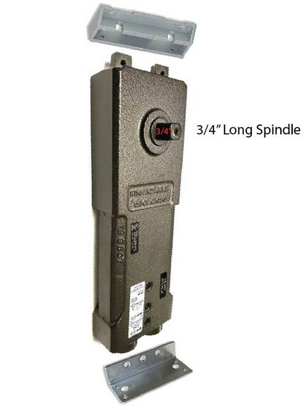 "International 232-SA Medium Concealed Closer Body - 3/4"" Long Spindle - 90 HO"