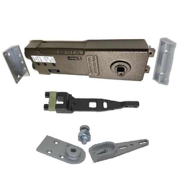 """International Medium Concealed Closer Kit - 3/4"""" Long Spindle - Short Arm - 90 HO"""
