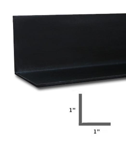 "1"" x 1"" x 1/16"" Aluminum Angle Dark Bronze Finish 47-7/8"""