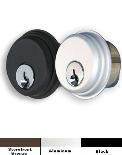 International Storefront Door Mortise Key Cylinder Lock- Pair- CZ 1001