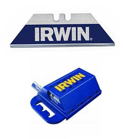 Irwin Bi-Metal Blue Blade Utility Blades 100 Pack