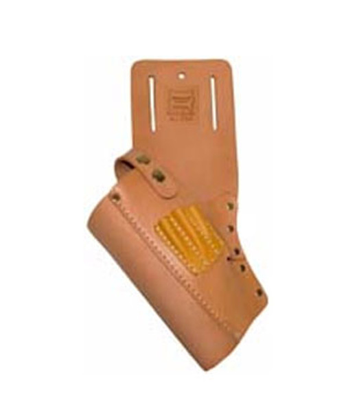 Large Cordless Drill Leather Holster with Bit Holders - Left Hand