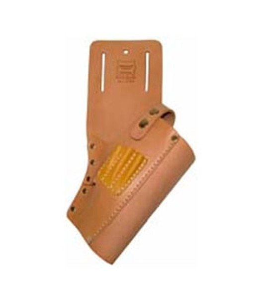 Large Cordless Drill Leather Holster with Bit Holders - Right Hand