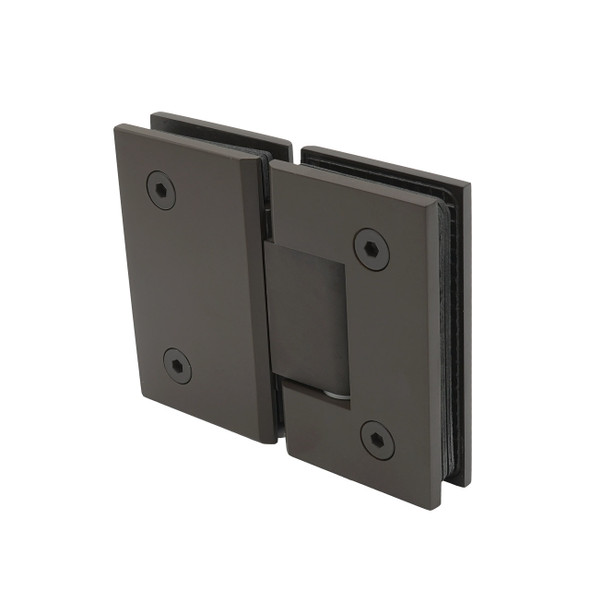 Oil Rubbed Bronze American Classic 180 Degree Glass To Glass Shower Door Hinge