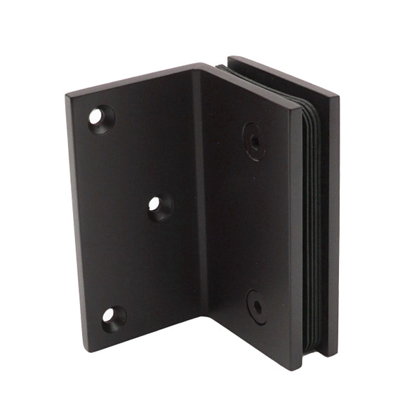 Oil Rubbed Bronze American Classic 90 Degree Glass to Wall Shower Glass Bracket