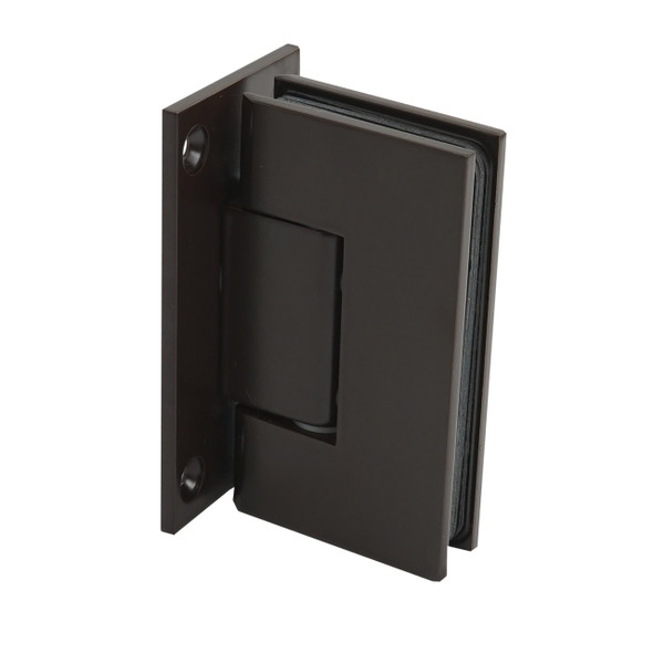Oil Rubbed Bronze American Classic Wall Mount Full Back Plate Shower Door Hinge