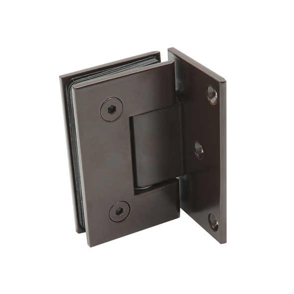 Oil Rubbed Bronze American Classic Wall Mount Offset Back Plate Shower Door Hinge