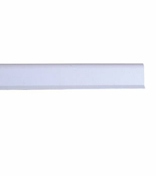 Pemko S88W20 Adhesive Bulb Smoke Seal Gasket White