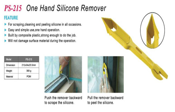 Plastic One Hand Silicone Remover Tool