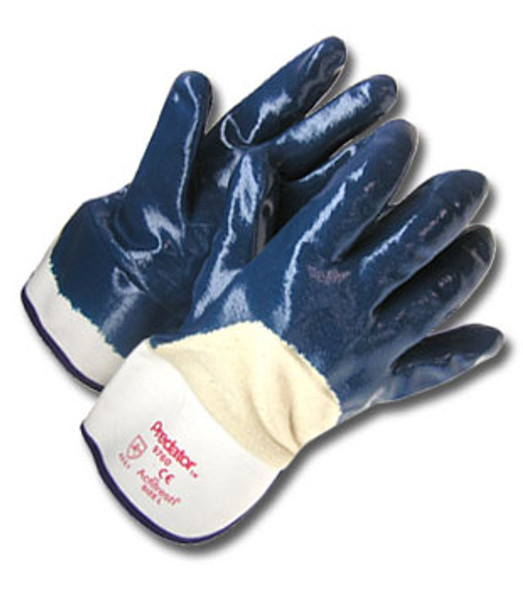 Radnor Heavy Weight Nitrile Coated Palm Smooth Finish Glass Gloves