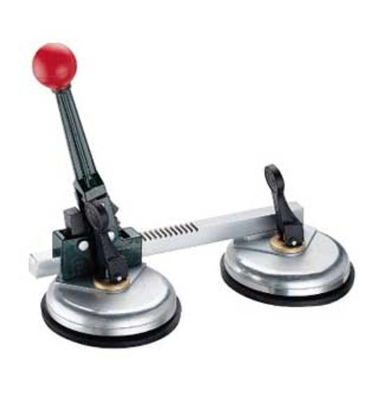 "Ratcheting Aluminum Dual 4-1/2"" Cup Horizontal Seam Setter"
