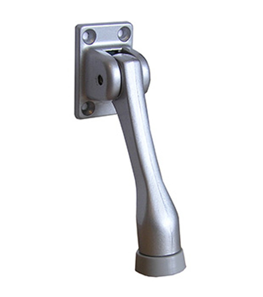 "Rockwood Commercial 4"" Kick Down Door Holder - Aluminum Finish"