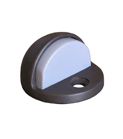 "Rockwood Door Stop Dome Bumper 1/4"" Lip Bronze Finish"