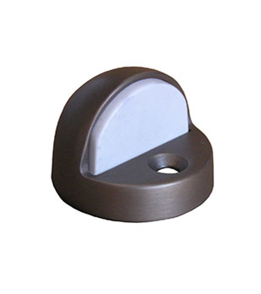 "Rockwood Door Stop Dome Bumper 7/16"" Lip Bronze Finish"