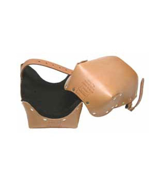 Saddle Leather Easy Walk Professional Leather Knee Pads