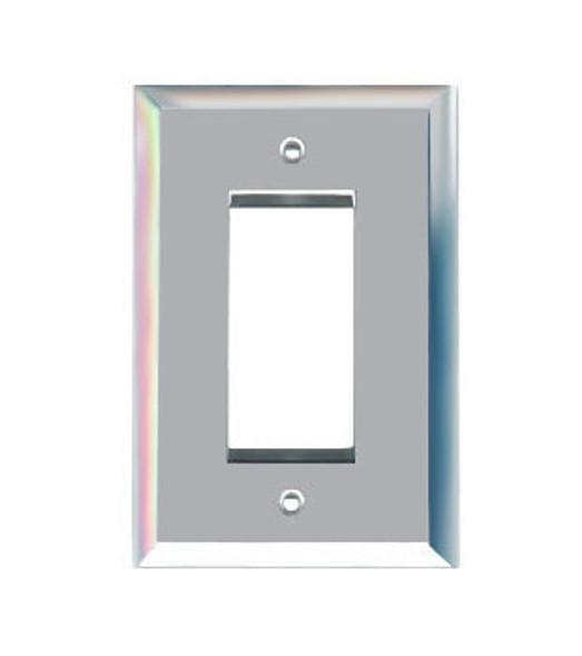 Single Decora Glass Mirror Switch Cover Plate