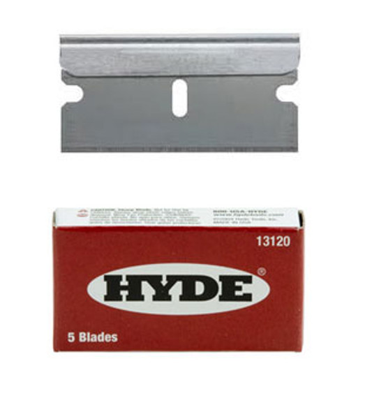Single Edge Razor Blades 5 Pack