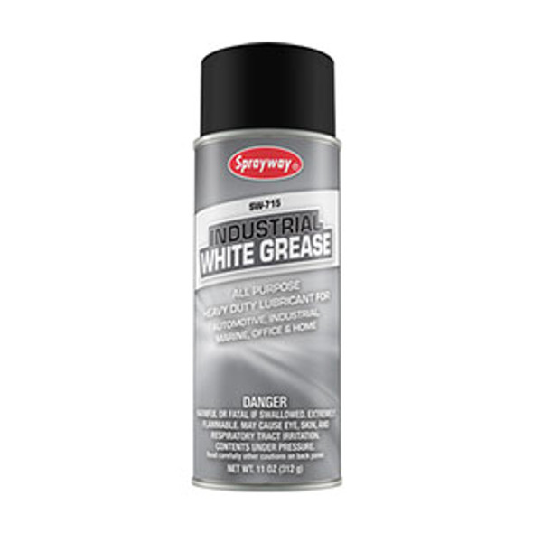 Sprayway SW715 Industrial White Grease 16 oz Can