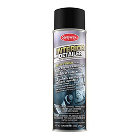 Sprayway SW780 Interior Detailer 12 oz Can