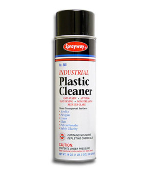 Sprayway SW848 Plastic Cleaner 19 oz Can