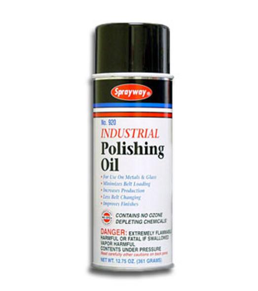 Sprayway SW920 Industrial Polishing Oil For Glass 12.75 oz. Can