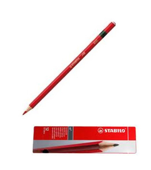 Stabilo All 8040 Red Glass Marking Pencil