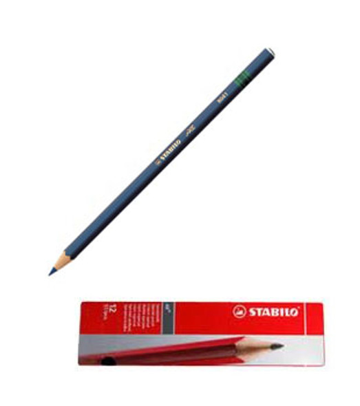 Stabilo All 8041 Light Blue Glass Marking Pencil