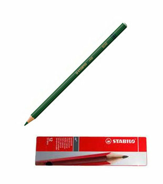 Stabilo All 8043 Green Glass Marking Pencil