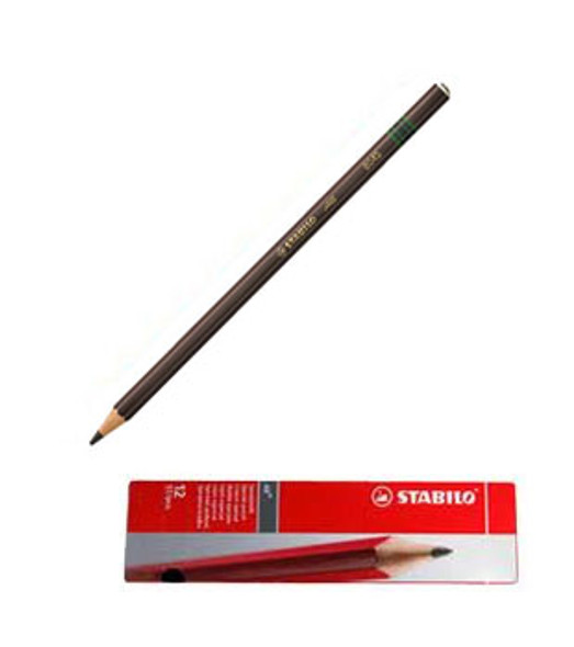 Stabilo All 8045 Brown Glass Marking Pencil