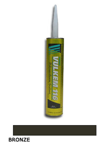 Tremco Vulkem 116 Polyurethane Sealant 10.1 oz Cartridge - Bronze