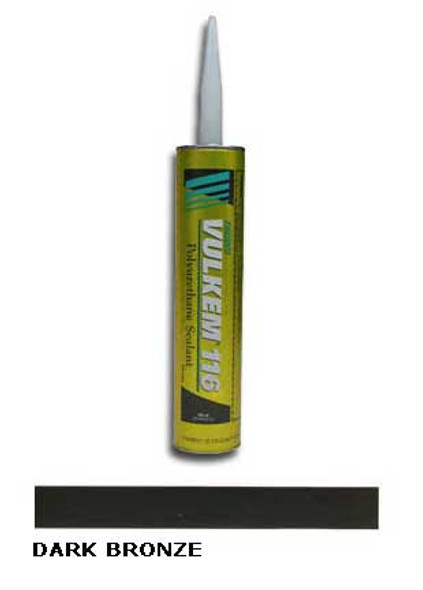 Tremco Vulkem 116 Polyurethane Sealant 10.1 oz Cartridge - Dark Bronze
