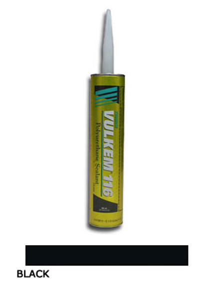 Tremco Vulkem 116 Polyurethane Sealant 10.1 oz. Cartridge - Black