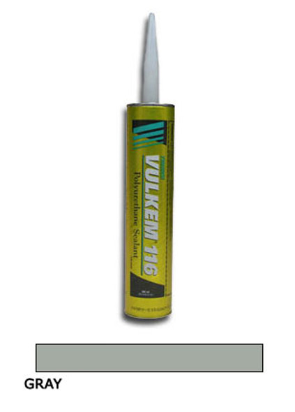 Tremco Vulkem 116 Polyurethane Sealant 10.1 oz. Cartridge - Gray