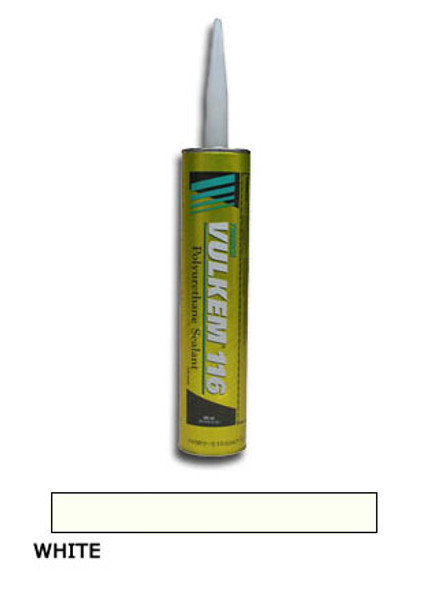 Tremco Vulkem 116 Polyurethane Sealant 10.1 oz. Cartridge - White