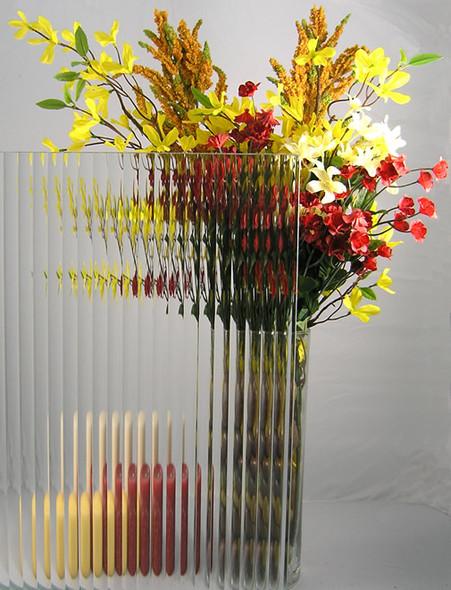 "WG58 Reeded Glass  4"" x 4"" Sample"