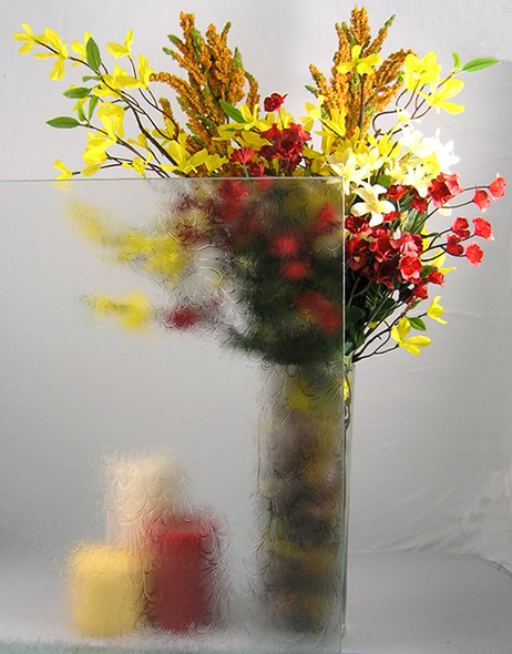 Obscure Floral Decorative Glass WG11