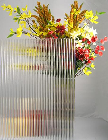 "WG136 Reeded Glass 4"" x 4"" Sample"