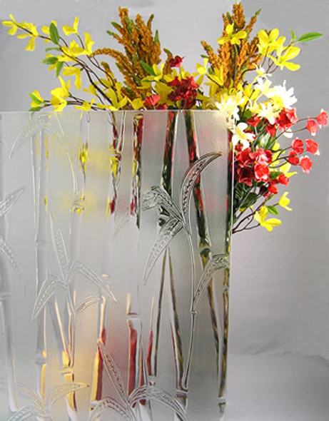 "WG160 Floral Glass 4"" x 4"" Sample"