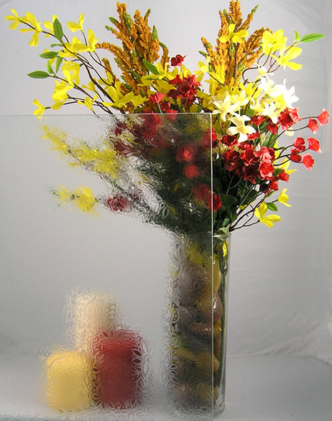 """WG25 Floral Glass 4"""" x 4"""" Sample"""