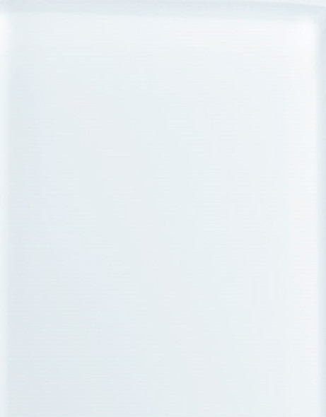 """WG302 White Back Painted Glass 4"""" x 4"""" Sample"""