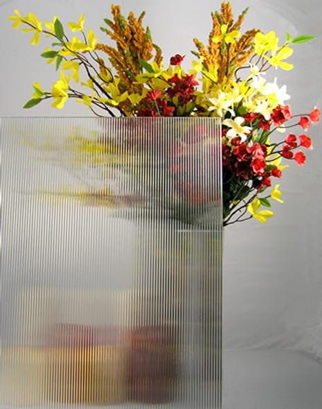 "WG87 Reeded Glass 4"" x 4"" Sample"