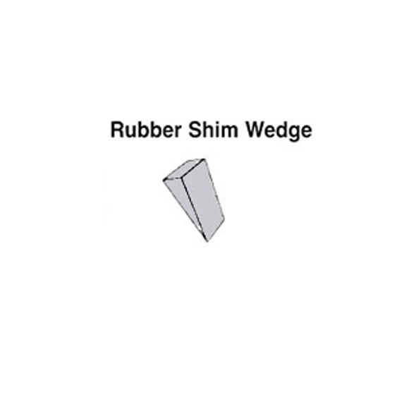 WGS - Rubber Shim Wedge