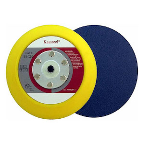"6"" Vinyl backup pad for psa stick-on discs"