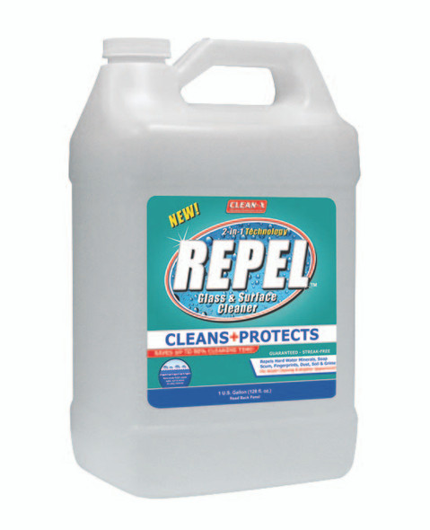 Repel Glass and Surface Cleaner With Repellent - 1 Gallon