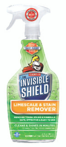 Invisible Shield Limescale & Stain Remover - 25 oz