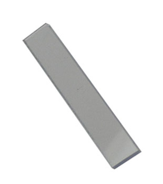 "1/4"" x 1/16"" x 2"" Clear PVC Setting Blocks - 100 Pack"