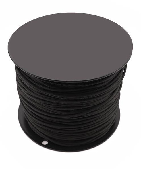Black Retainer Spline - Serrated - .175 x 1450'