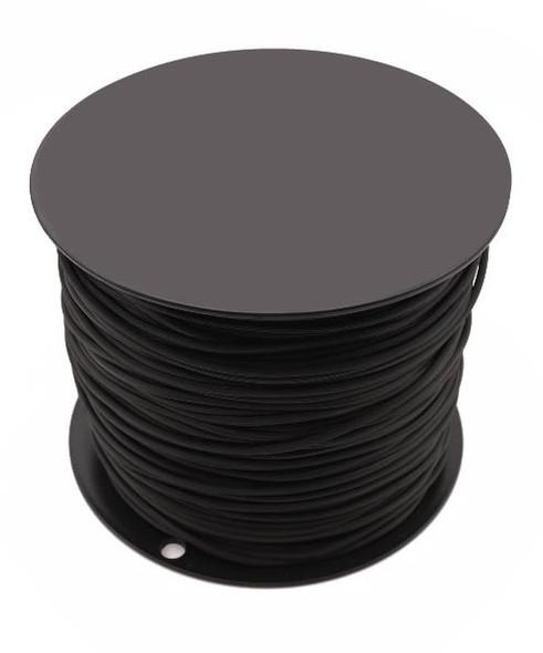 Black Retainer Spline - Serrated - .185 x 1350'