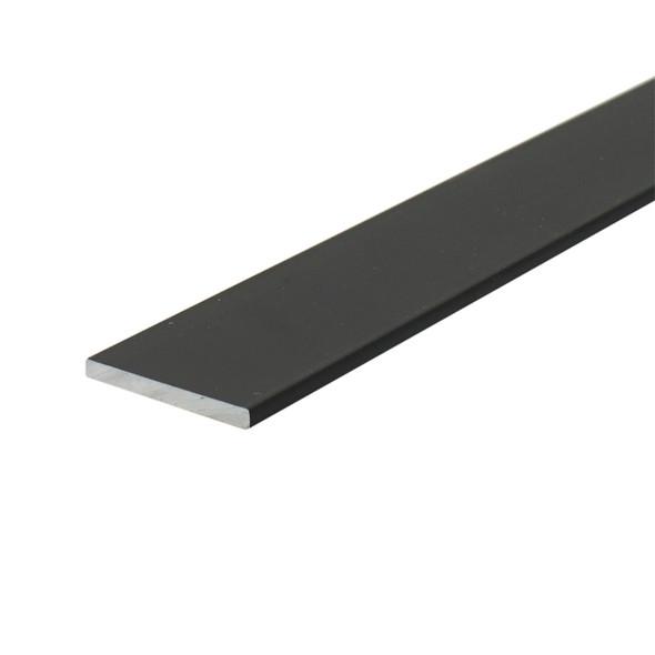 "1-3/4"" X 1/16"" Aluminum Flat Bar Bronze Anodized Finish with Tape 95"""